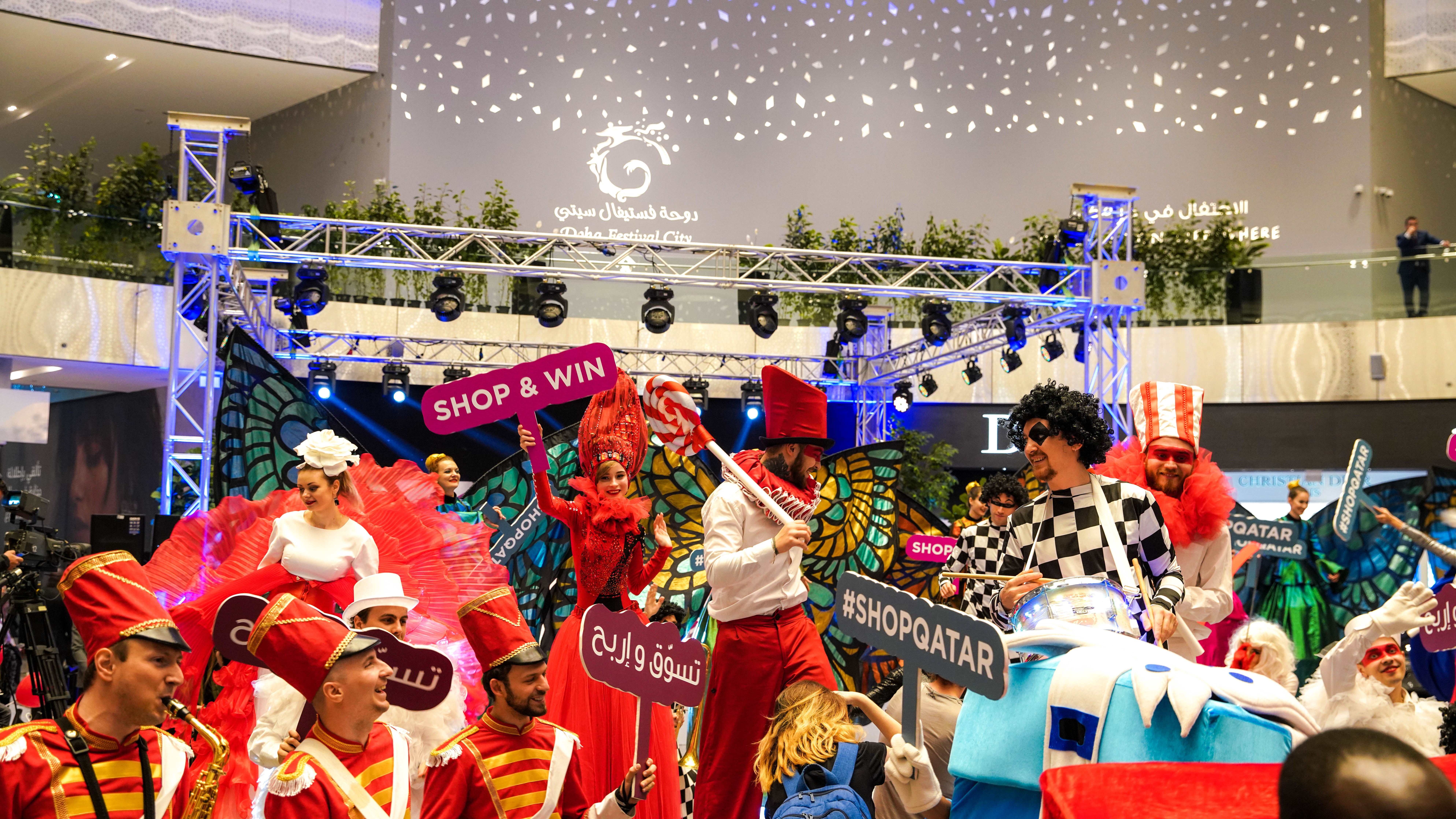 Shop Qatar to start off the new year with discounts, prizes, fashion, and entertainment